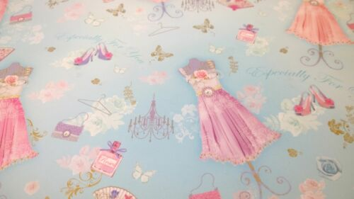 Especially For You Gift Wrapping Paper Sheet /& Tag Birthday Female Quality NEW