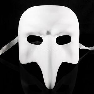 Blank-034-NASONE-GREZZO-034-VENETIAN-MASK-Small-Long-Nose-Masquerade-Mask