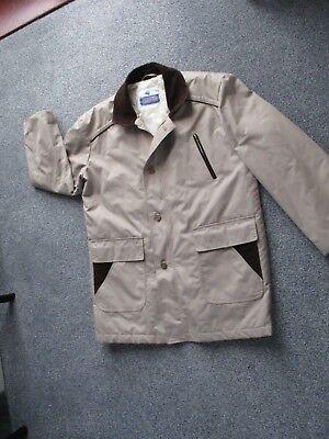 """""""rondine"""" Da Uomo Vintage Stone Colorato Impermeabile/giacca Sz 50 Ins Sul Petto Nuova-t Sz 50 Ins Chest New It-it Mostra Il Titolo Originale"""