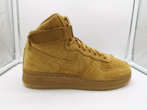 Nike Air Force 1 High LV8 AF1 UK 4.5 Wheat Flax 807617-701