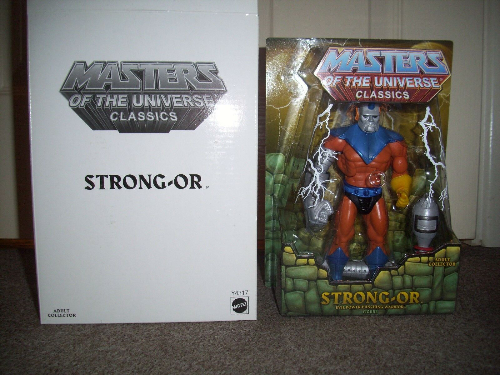 Masters of the Universe classics Strong Or figure. still sealed