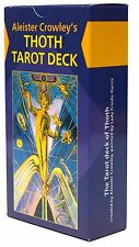 Aleister Crowley Thoth Tarot Deck English 79 Booklet Lo Scarabeo Cards 40 pages
