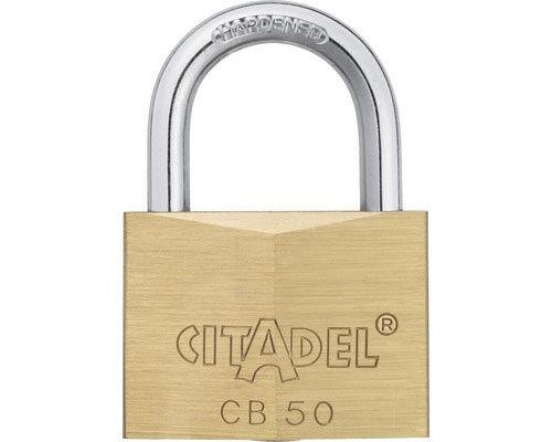 Telón castillo candado seguridad castillo Citadel cb50 con 2 clave