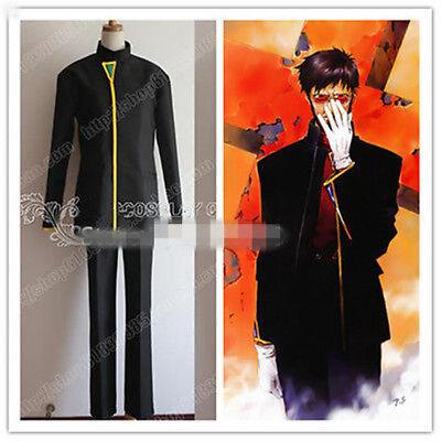 New Neon Genesis Evangelion Gendo Ikari Cosplay Costume free shipping