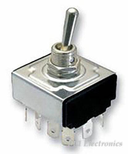 4pdt ON-ON Interruttore Multicomp mcr13-44b-05 Interruttore in modo