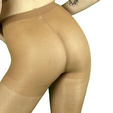 Leggs Sheer Energy Shiny Control Top Pantyhose Q+ Size Suntan 90982 TWO PAIR