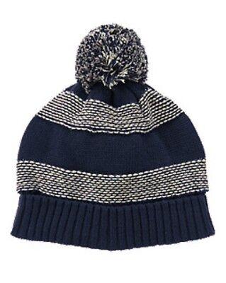 NWT Gymboree Striped Bucket Hat Sun Hat 100/% Cotton NEW Kid Boys M L 7 8 10 12