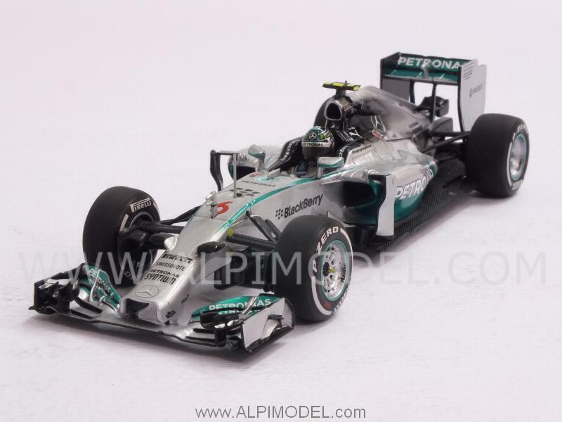 Mercedes F1 W05 Winner GP Australia 2014 Nico Rosberg 1 43 MINICHAMPS 410140006