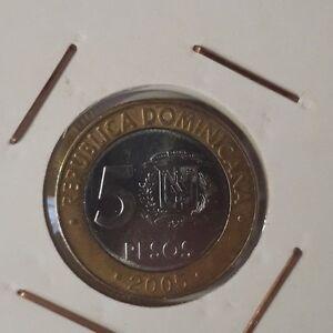 Dominican-Republic-5-Pesos-2005-XF