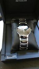 Rado Centrix Quarty Black Dial Ceramic Men's Watch R30934712