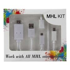 MHL KIT to HDMI media adapter for Sony Xperia Z1/Z2/Z3 & C Compact Models NRZU