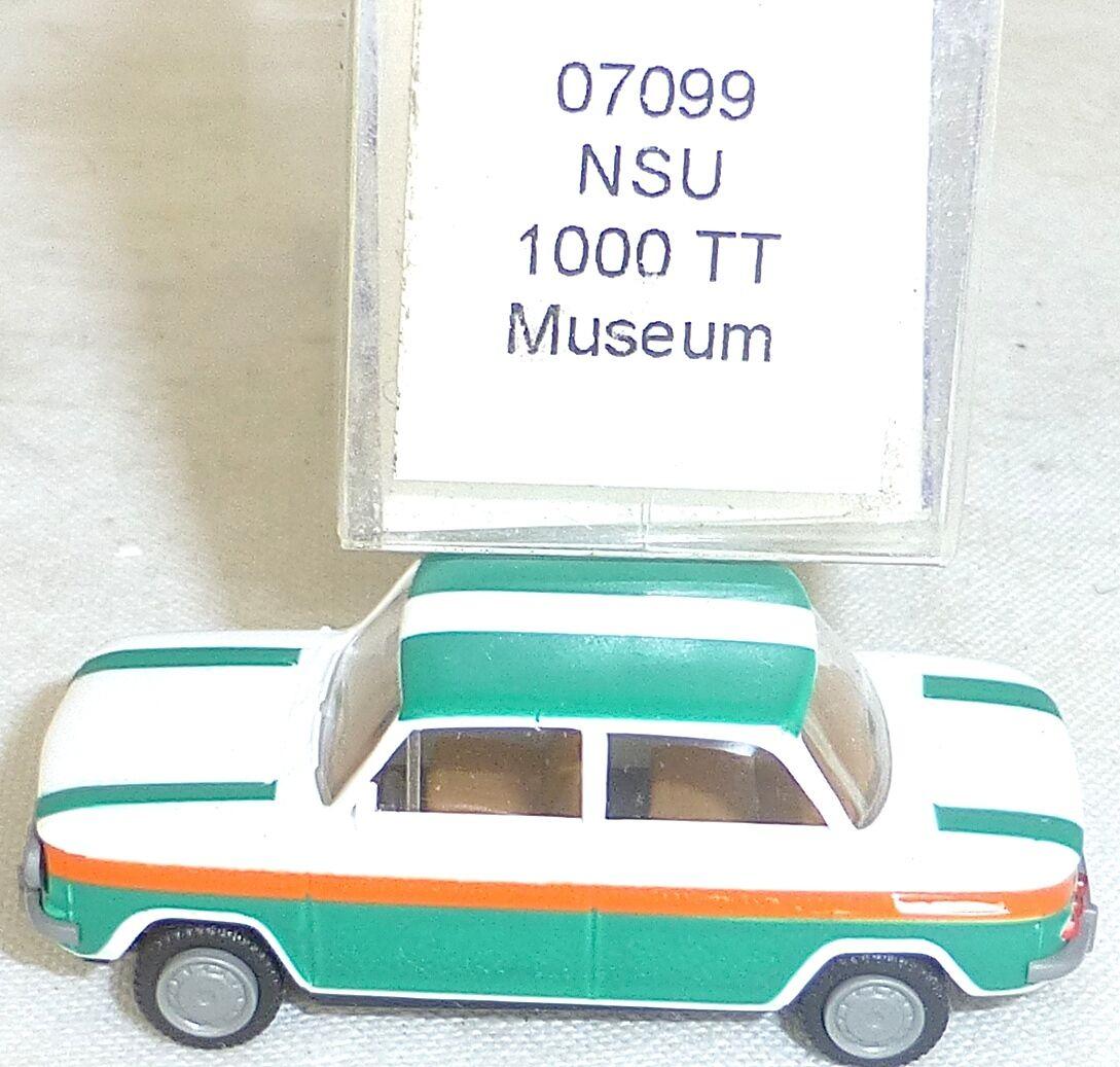 NSU 1000 TT Museum Version IMU   Euromodell 07099 H0 1 87 OVP  LL1 Å