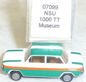 NSU-1000-tt-musee-execution-Mesureur-EUROMODELL-07099-h0-1-87-OVP-ll1-a