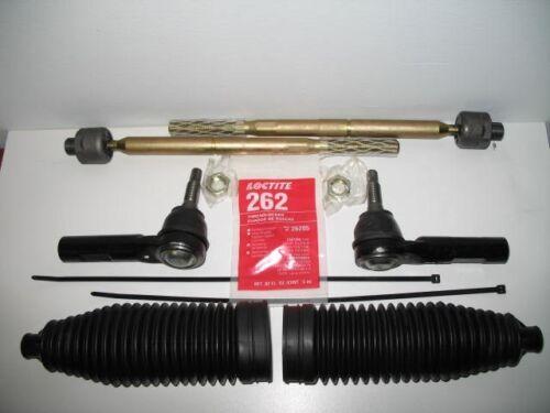 Fits 2007-2009 Toyota FJ Cruiser Left /& Right Inner /& Outer Tie Rod /& Bellow Kit