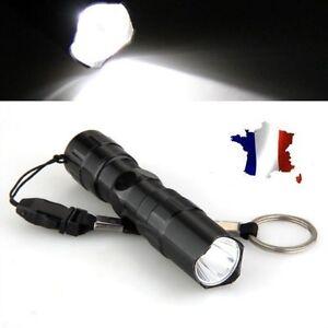 Mini Lampe Torche Puissante Tactique Militaire Etanche Led 3w Police