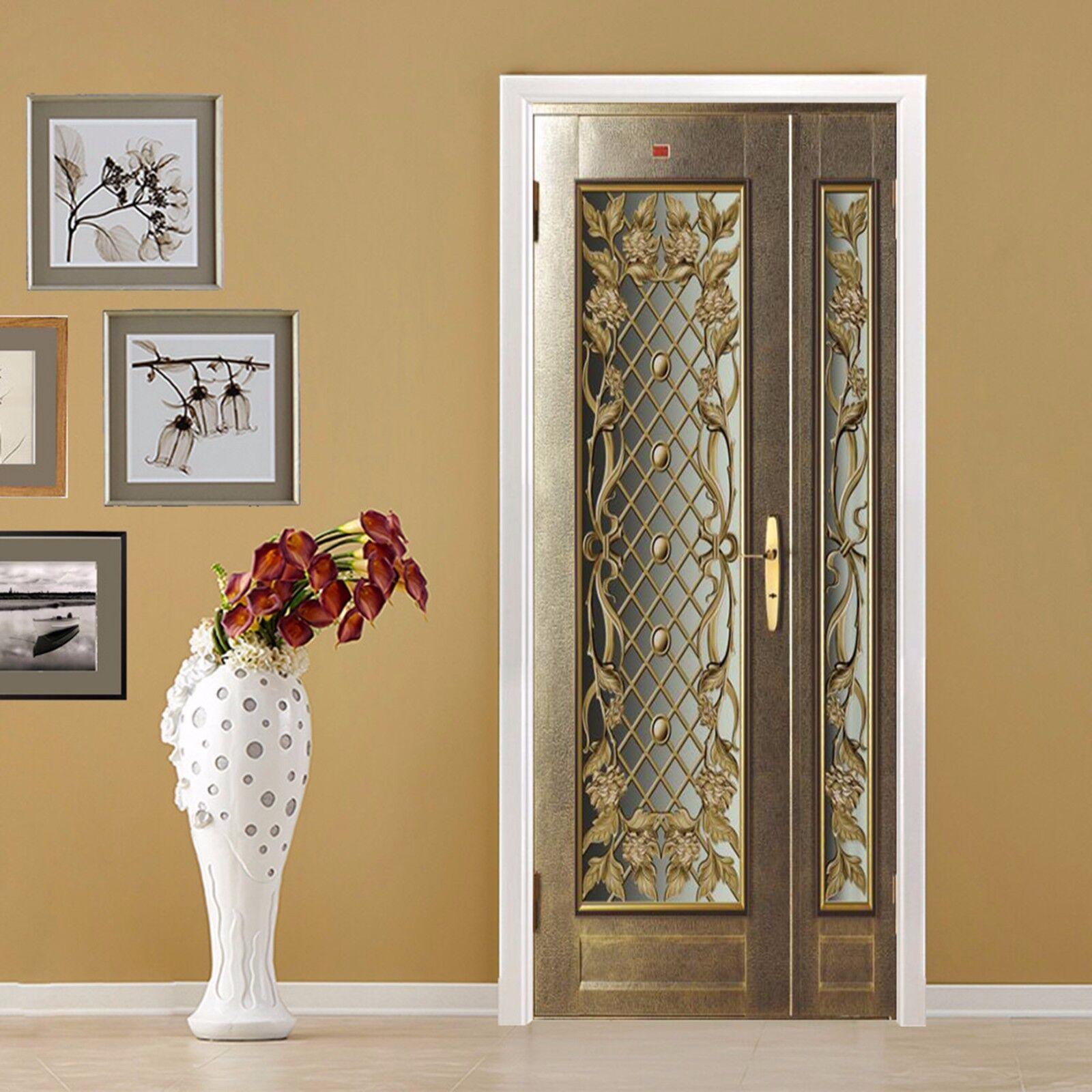 3D Muster 756 Tür Wandmalerei Wandaufkleber Aufkleber AJ WALLPAPER DE Kyra