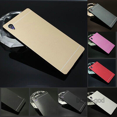 New Luxury Motomo Hybrid Metal Aluminum Brushed Hard Case Cover For Sony Xperia