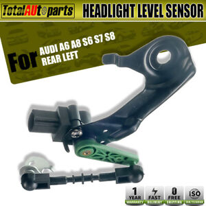 Rear-Left-Driver-Side-Headlight-Level-Sensor-for-Audi-A6-A8-S6-S7-S8-4H0941309C