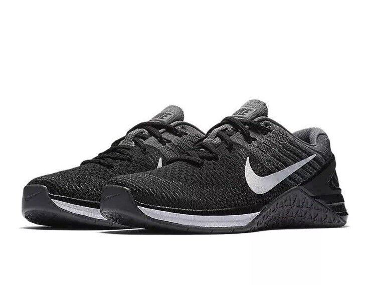 Nike metcon dsx flyknit flyknit flyknit 849809-005 bianco nero grigio noi 5,5 nuova | Ottima classificazione  6edf93