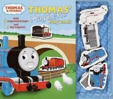 Thomas & Friends: Magnetic Playbook c2001 VGC Hardcover has all nine magnets