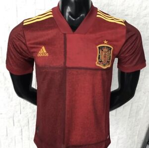 Spain Euro Jersey Home Men 2020 Size L