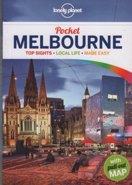 POCKET MELBOURNE - LONELY PLANET TRAVEL GUIDE VICTORIA AUSTRALIA AS NEW PB