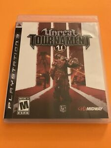 🔥 PS3 PLAYSTATION 3 🔥 💯 COMPLETE WORKING GAME 🔥 UNREAL TOURNAMENT III 3