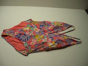 bb78e11a9d3 NEW No Boundaries One Piece Swimsuit size L (11-14) Junior's NWT | eBay