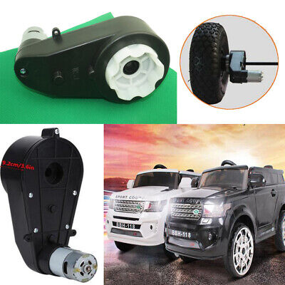 12V 30000RPM Electric Motor Gear Box W// 2 Gears For Kids Ride On Car Toy