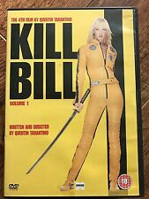 Uma Thurman KILL BILL VOL.1 Tarantino Cult Arti Marziali Action classico UK DVD