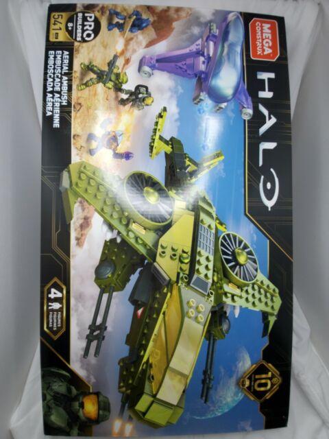 Construx Mega Bloks Halo Aerial Ambush GGF83 Building Mega Bloks 541 Pieces
