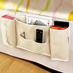 Hanging Organizer Bedside Pocket Storage Bag For Bunk Dorm Rooms Bed