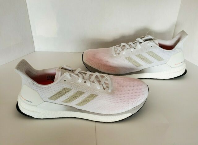 Adidas Solar Boost 19 Cloud White Men's Size 11.5 Brand New With Tag G28058