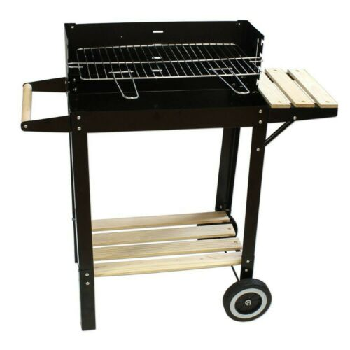 Barbecue Cart Standing Grill Deluxe Surface 52 x 27 cm from Kynast Exclusive