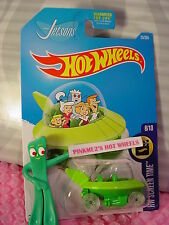 2017 Hot Wheels THE JETSONS #25✰Green; Sublime;pr5 clear✰ Screen Time✰US Case B