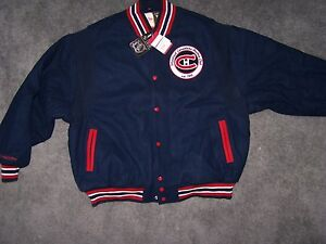 e748c270b32 Mitchell   Ness Canadians wool jacket size 2xl new with tags retail ...