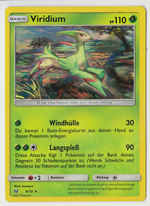 Pokemon-Schimmernde-Legenden-Viridium-08-73-Holo-Rare-Deutsch-Neu