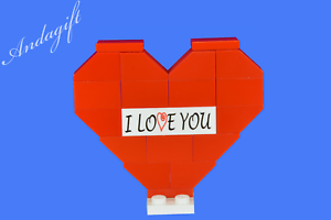 LEGO NEW birthday Christmas gift LEGO HEART with instructions valentines