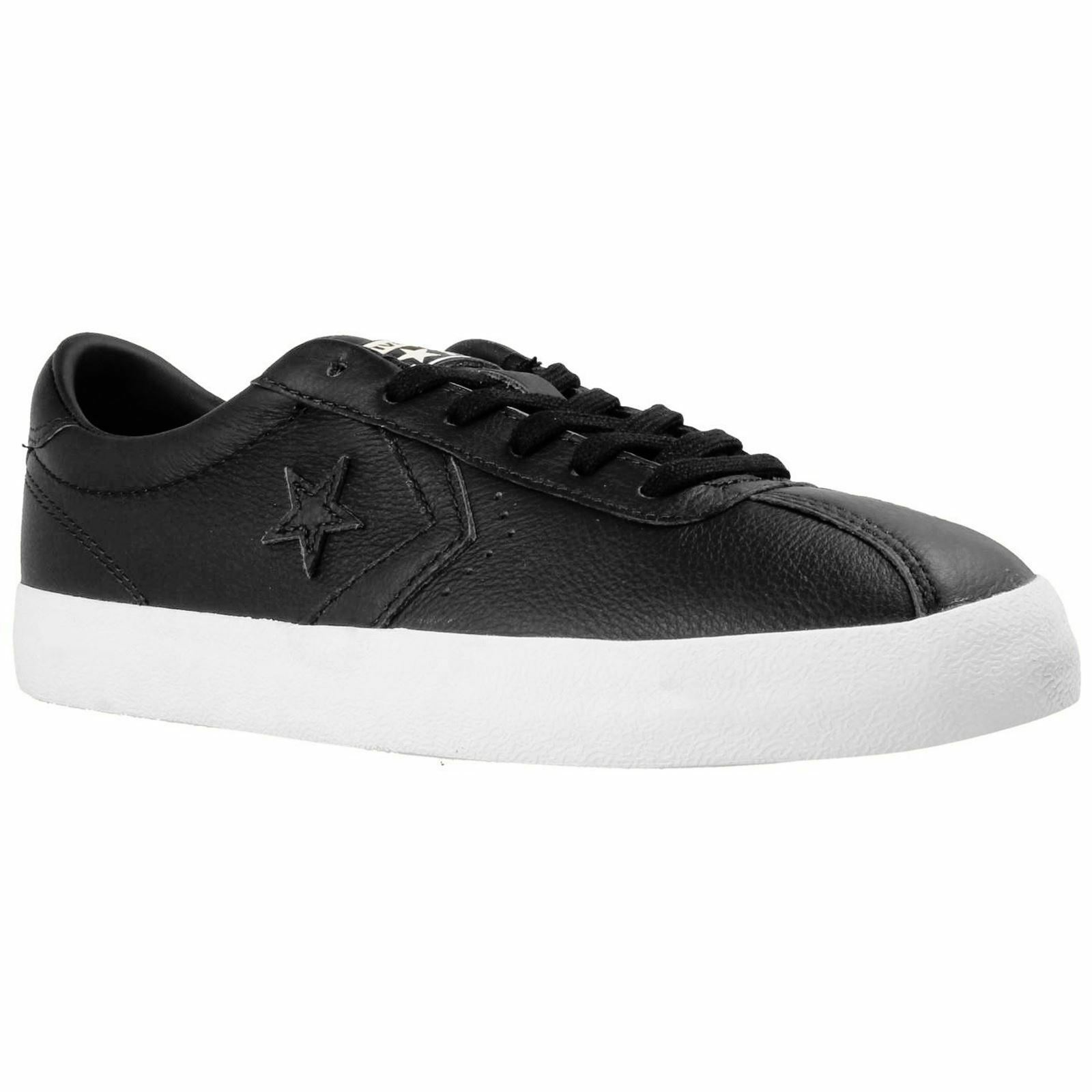 Converse Breakpoint Ox Black White Unisex Leather Casual Low-top Trainers