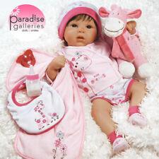 Paradise Galleries Reborn Baby Girl Doll, 19 inch Tall Dreams Gift Set Ensemble