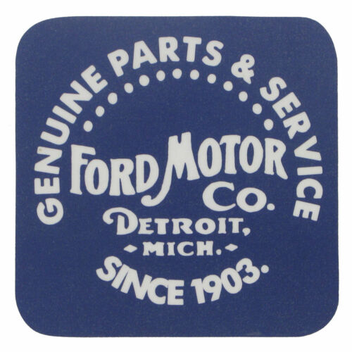 Ford Parts and Service set of four cork backed drinks mats rh coasters