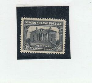 NEWFOUNDLAND-171-VF-MLH-20cts-COLONIAL-BUILDINGS-CAT-VALUE-100