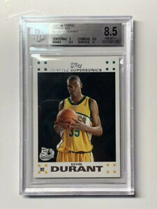 Kevin-Durant-2007-Topps-Rookie-Basketball-Card-2-BGS-8-5