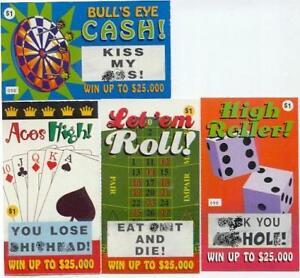 10-Adult-Nasty-Rude-Curse-Fake-Lotto-Lottery-Tickets-Funny-Prank-Joke-Gag