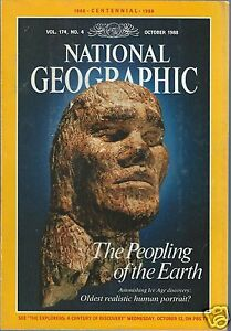 National Geographic 1988 - CENTENNIAL - complete 12 issues - good condition