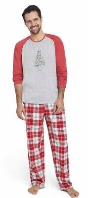 ED by Ellen Degeneres Men/'s Holiday Pajamas Set