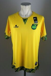Jamaika-Trikot-Gr-S-M-L-Jamaica-2015-2016-Romai-Home-WM-jersey-Shirt-Neu