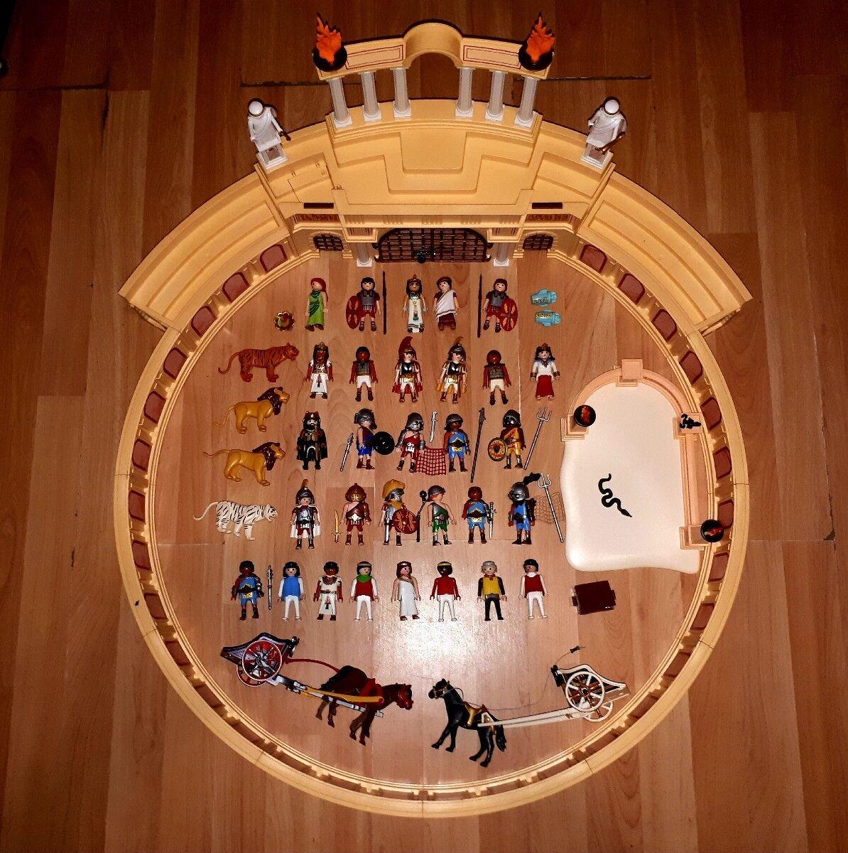 grandes ahorros Jugarmobil 4270 + 6868 6868 6868 +EXTRAS Circo Romano Coliseo Gladiadores Lote Roma Egipto  alta calidad general