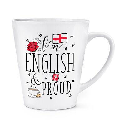 England Rugby I/'M Englisch Was Your Superpower 341ml Latte Becher Tasse