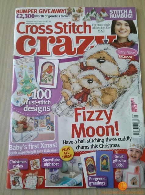 Cross Stitch Crazy Magazine - Christmas 2012 - Issue 170 - Baby's First Xmas